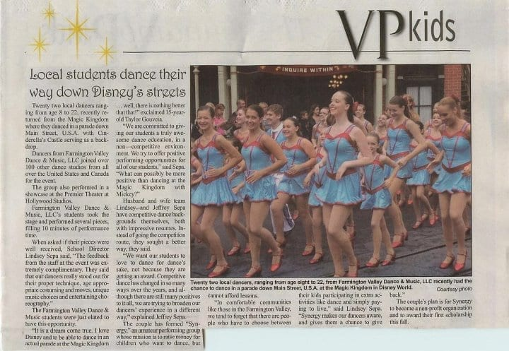 Valley Press Newspaper Article