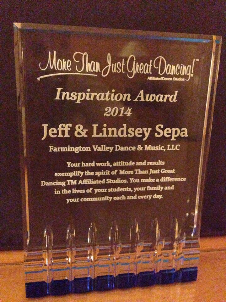 Lindsey & Jeff Sepa Inspiration Award